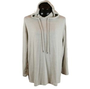 H & M Oversized Hooded Tunic Sweater Size Med